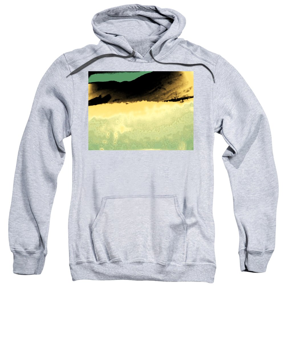 Abstract Sweatshirt featuring the photograph Colorado Rangelands by Lenore Senior