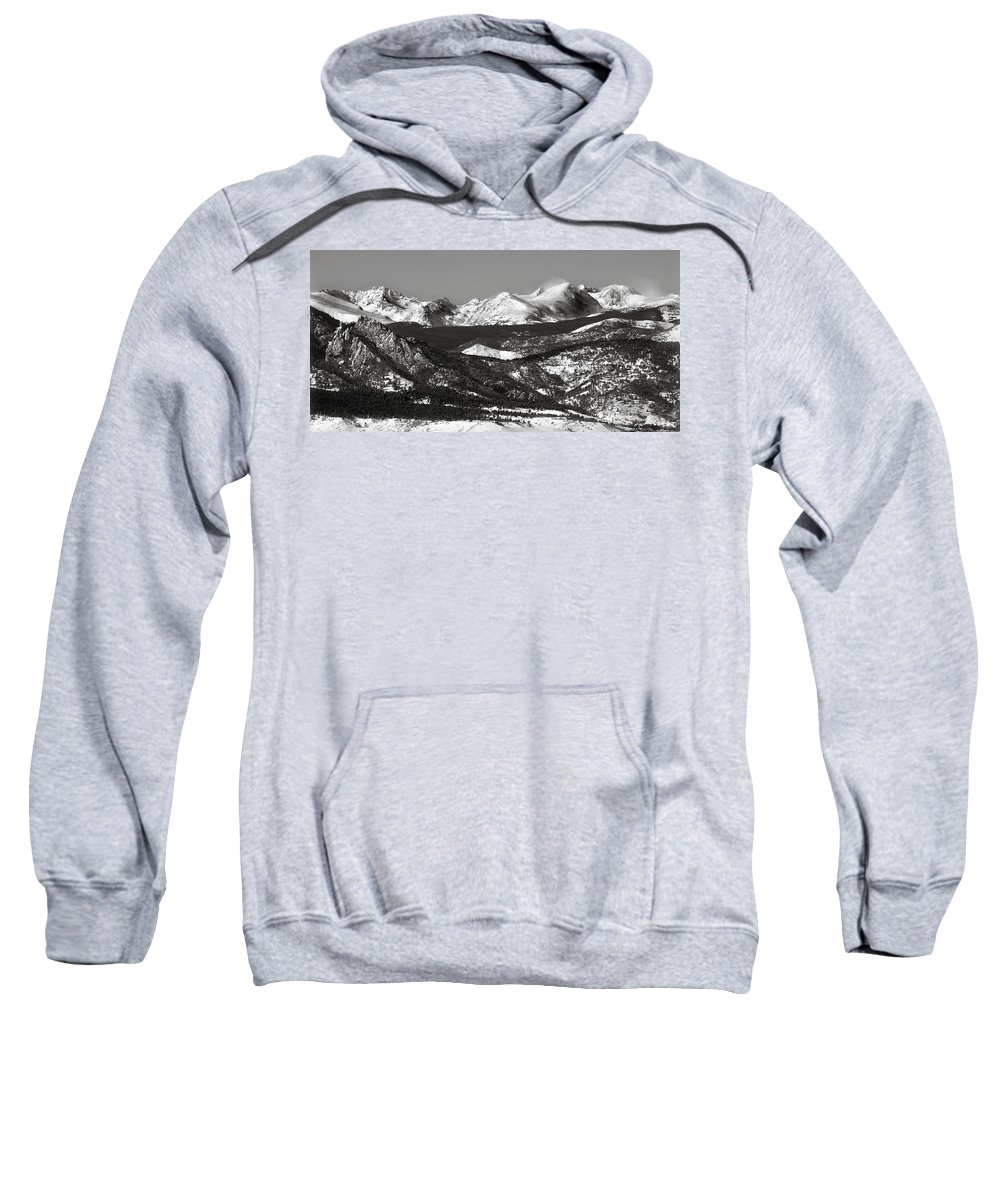 Americana Sweatshirt featuring the photograph Colorado Rocky Mountains by Marilyn Hunt