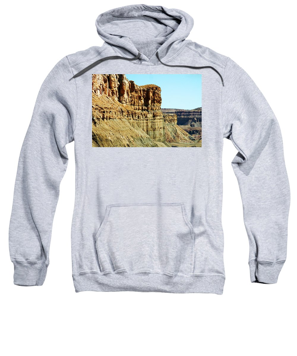 Clay Sweatshirt featuring the photograph Colorado Scenic by Clayton Bruster