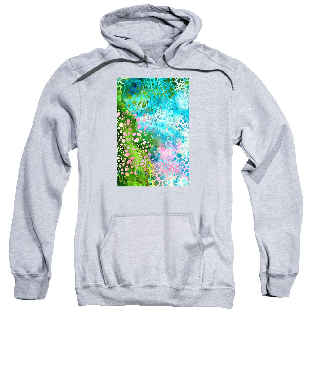 Abstract Landscape Paintings Hooded Sweatshirts T-Shirts