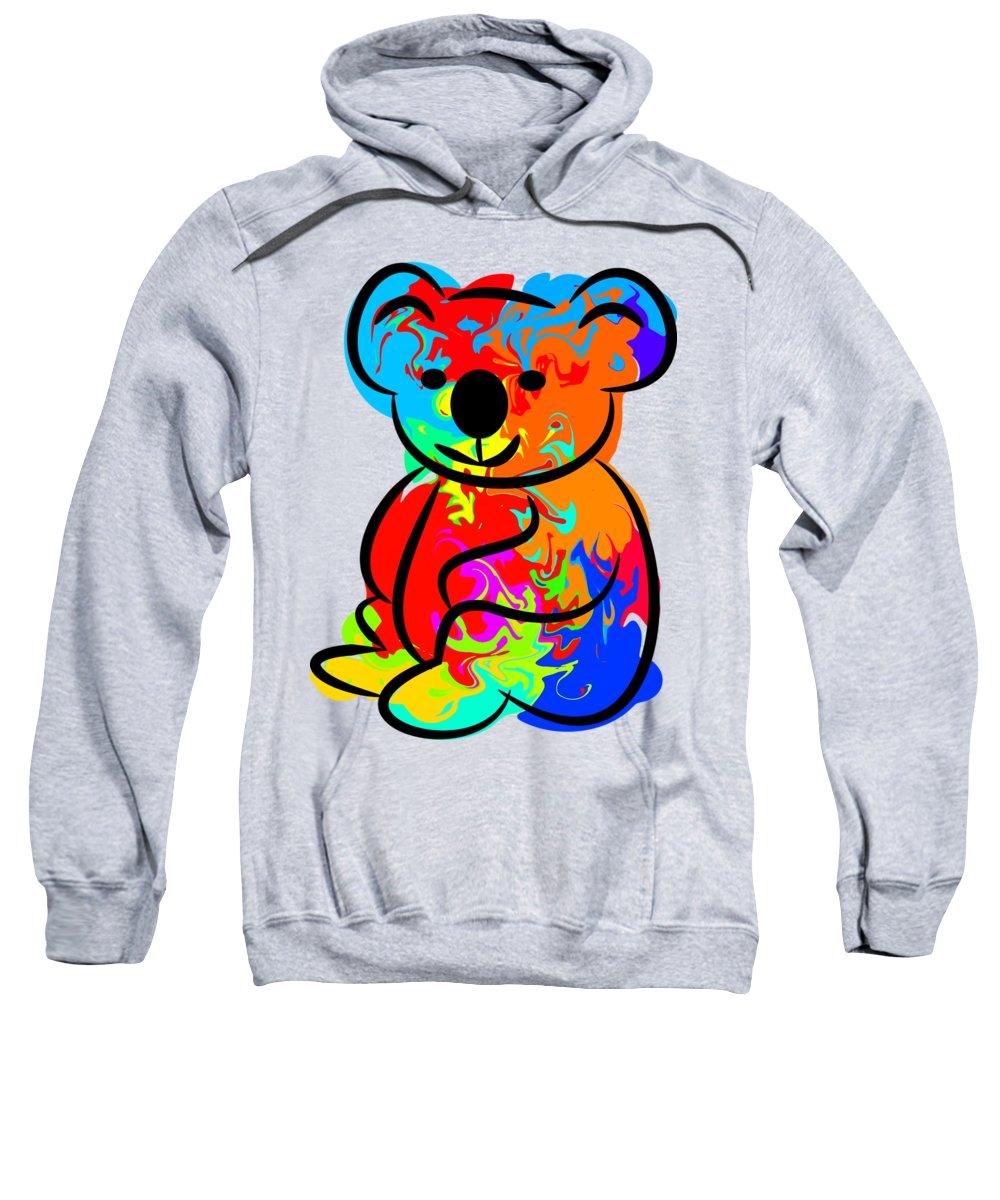 Koala Hooded Sweatshirts T-Shirts