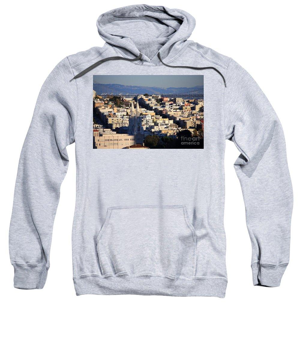 San Francisco Sweatshirt featuring the photograph Colorful San Francisco by Carol Groenen
