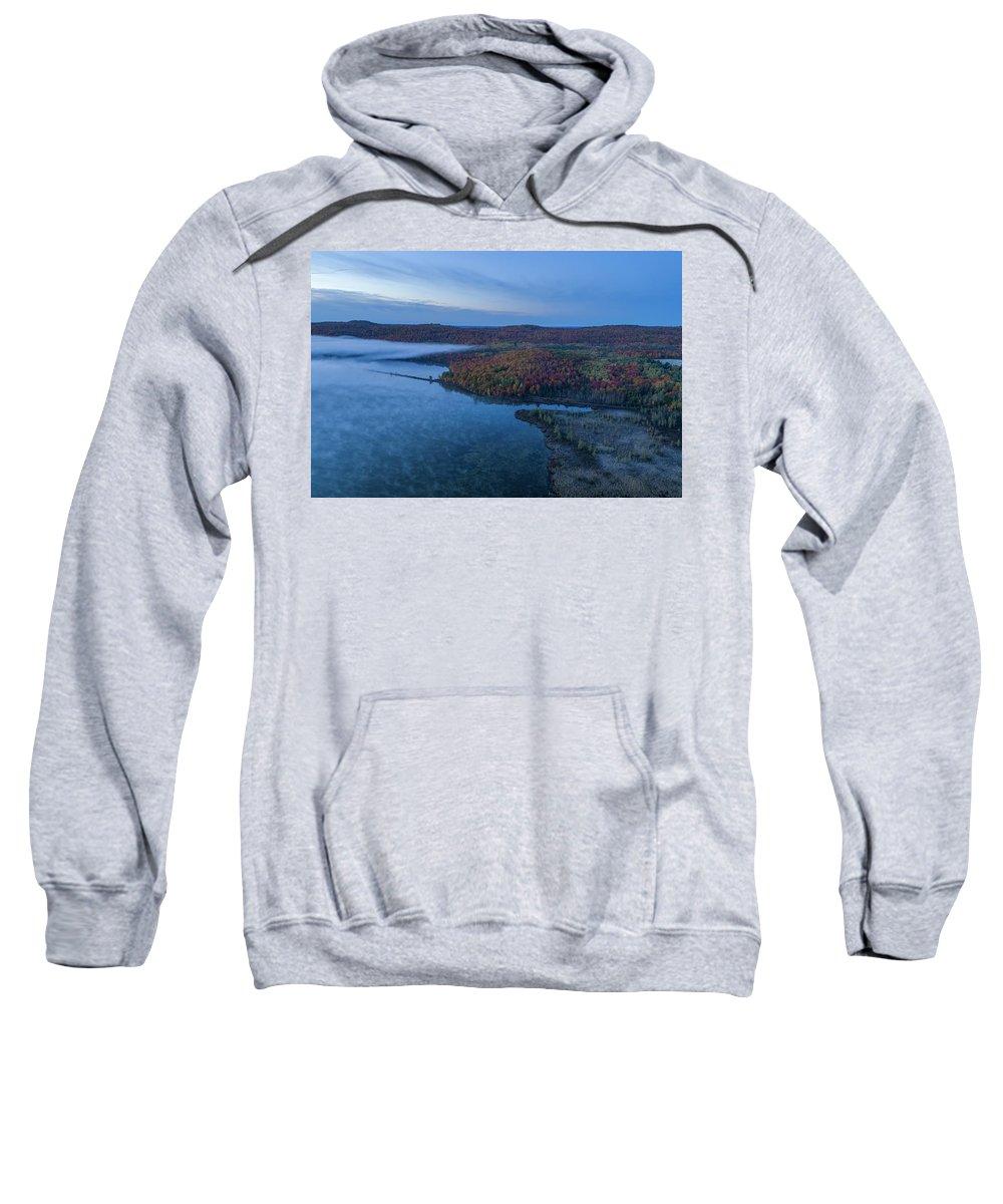 Marquette Sweatshirt featuring the digital art Colors by Bradley J Nelson