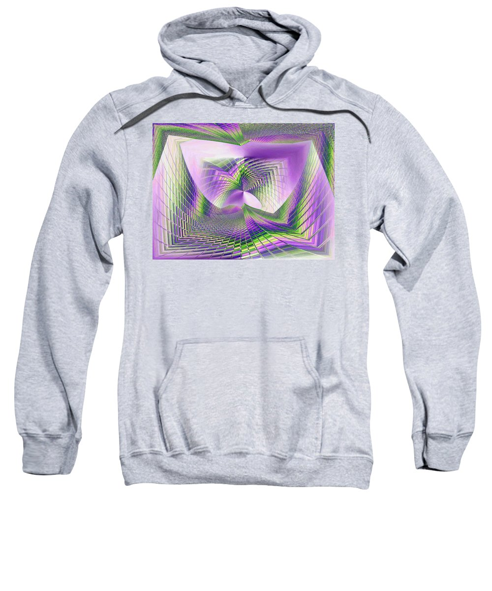 Seattle Sweatshirt featuring the photograph Columbia Tower Vortex 3 by Tim Allen
