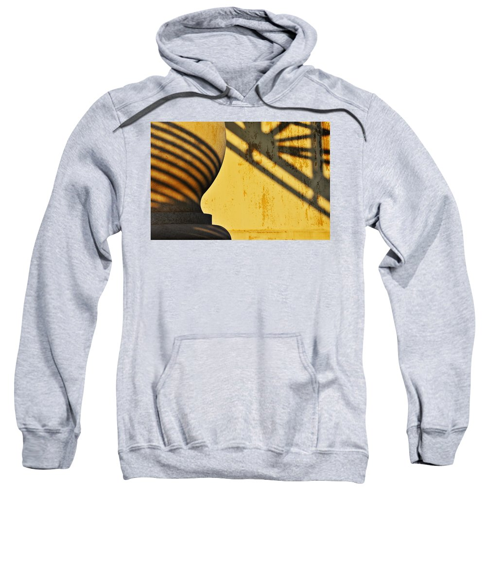 Architecture Sweatshirt featuring the photograph Comb Over by Skip Hunt
