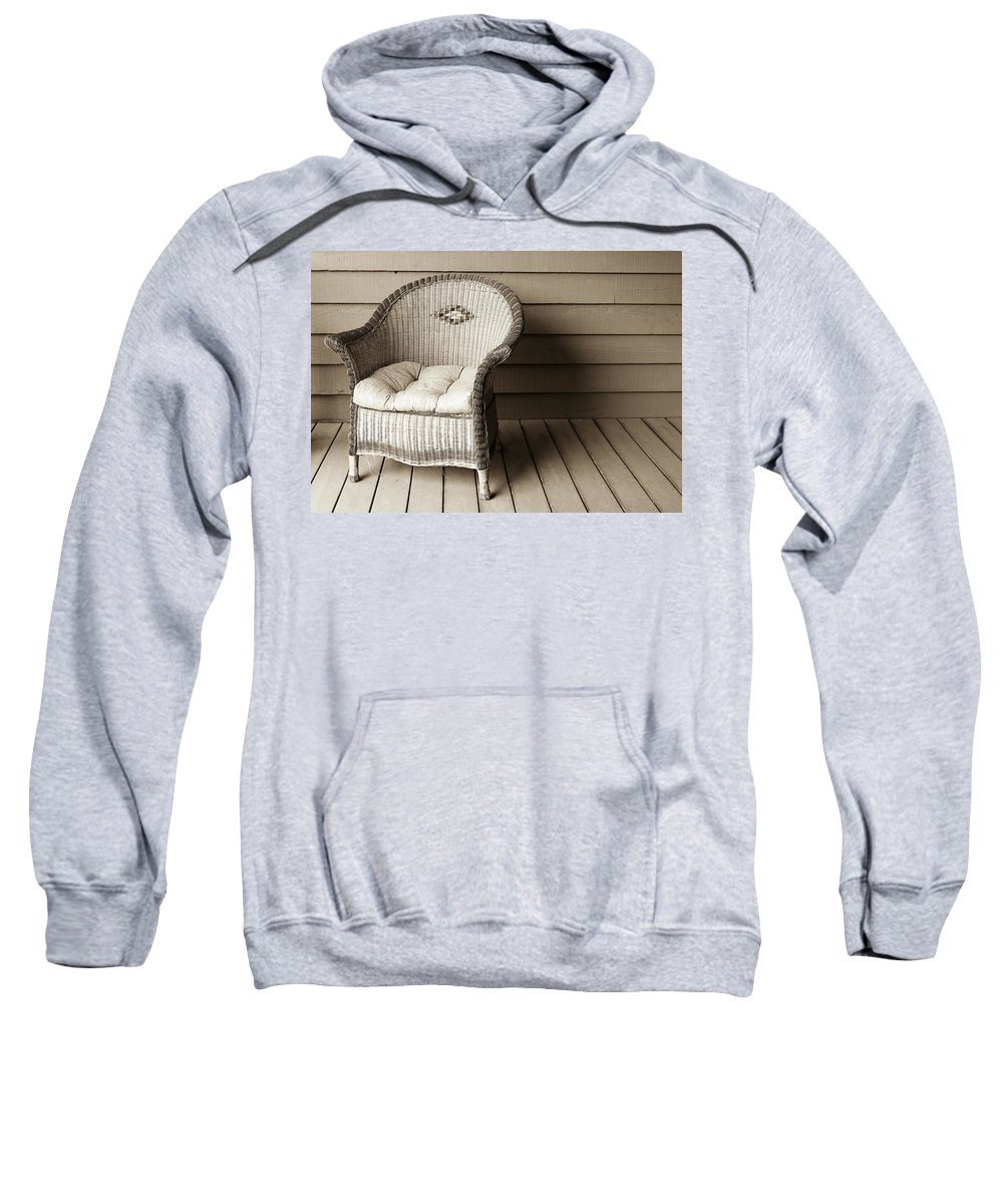 Americana Sweatshirt featuring the photograph Come Sit With Me by Marilyn Hunt