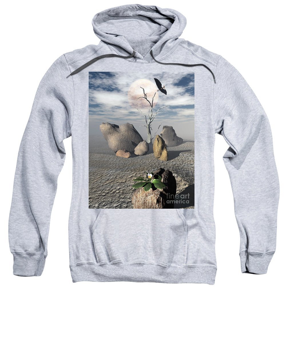 Ages Sweatshirt featuring the digital art Coming Of Age by Richard Rizzo