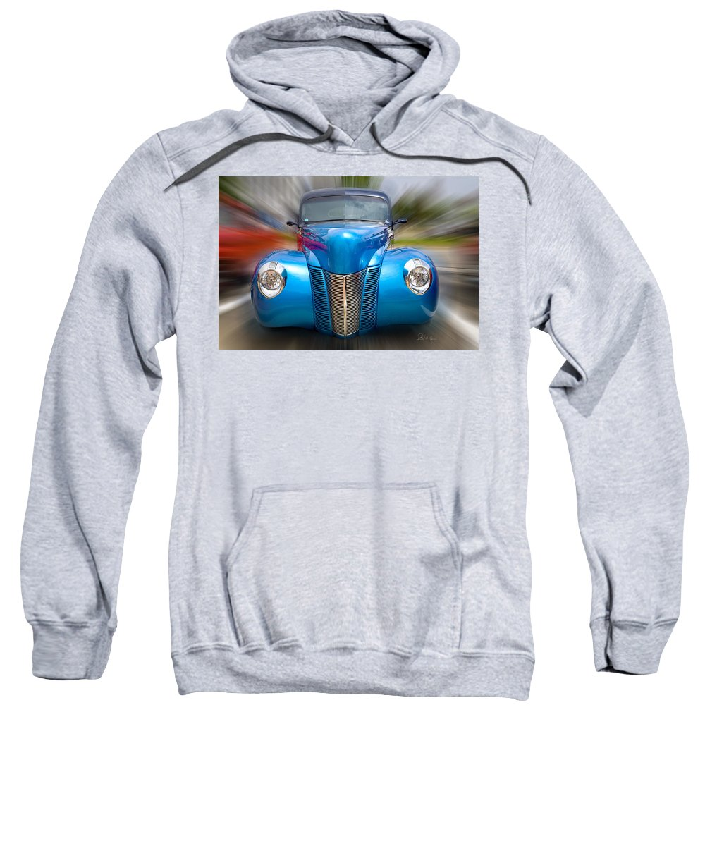 Photography Sweatshirt featuring the photograph Coming Through by Frederic A Reinecke