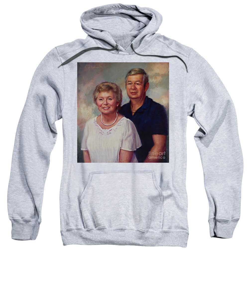 Sweatshirt featuring the photograph Commission by Jean Hildebrant