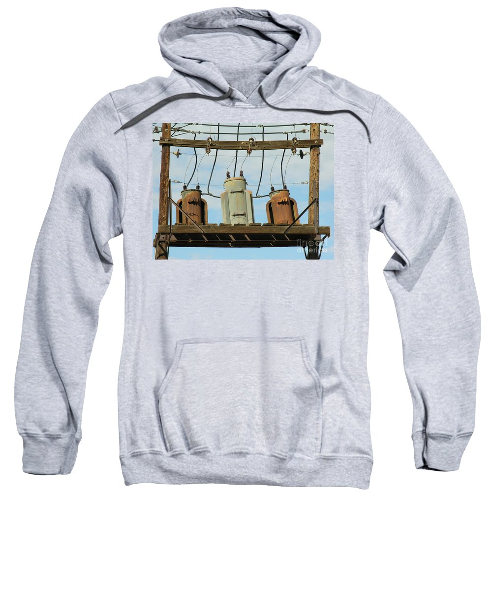 Rusted Sweatshirt featuring the photograph Company by Diane Greco-Lesser