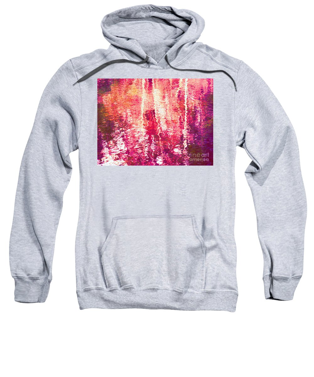 Abstract Sweatshirt featuring the photograph Conflicted In The Moment by Sybil Staples