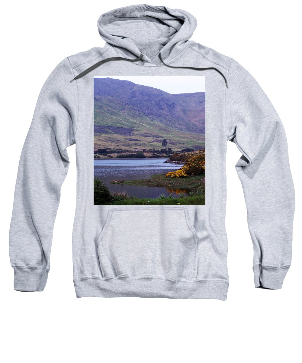 Landscape Sweatshirt featuring the photograph Connemara Leenane Ireland by Teresa Mucha