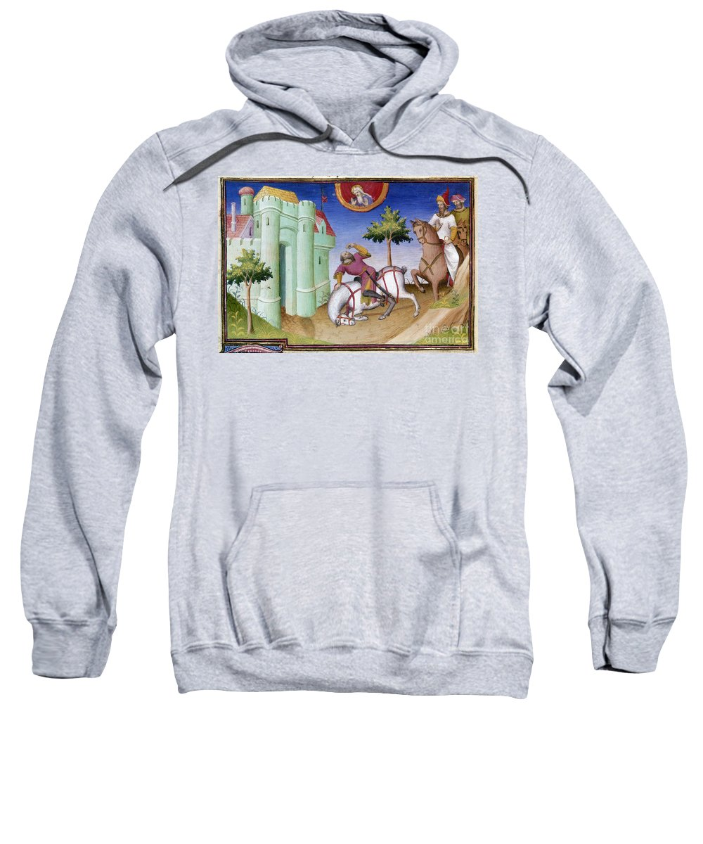 1410 Sweatshirt featuring the photograph Conversion Of Saint Paul by Granger