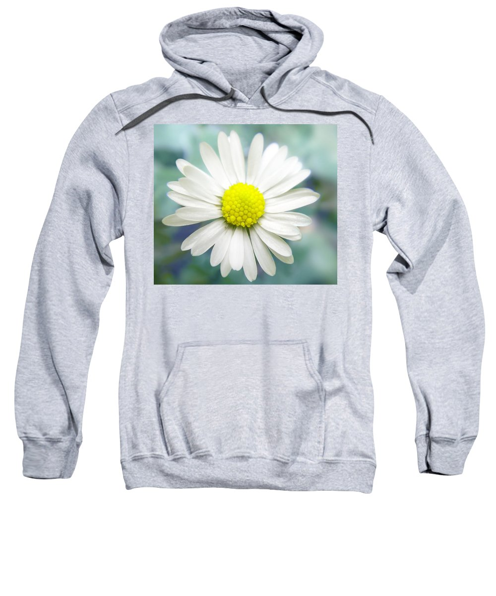 Flower Sweatshirt featuring the photograph Coolness by Irina Effa