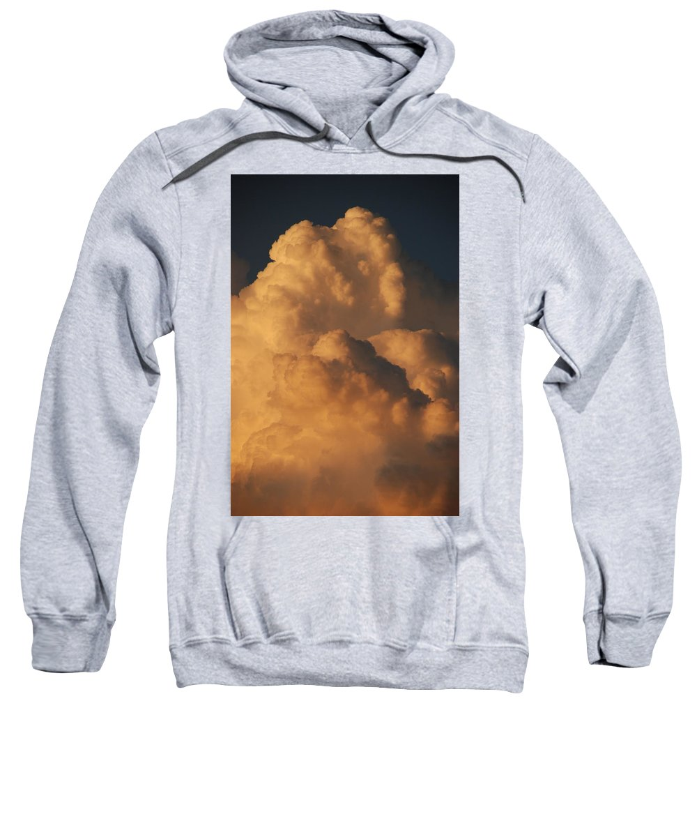 Clouds Sweatshirt featuring the photograph Coppermouth by Rob Hans