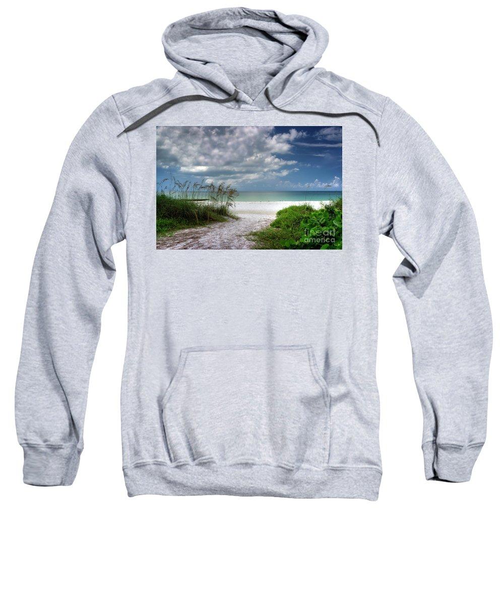 Coquina Beach Sweatshirt featuring the photograph Coquina Beach-bradenton Florida by David B Kawchak Custom Classic Photography