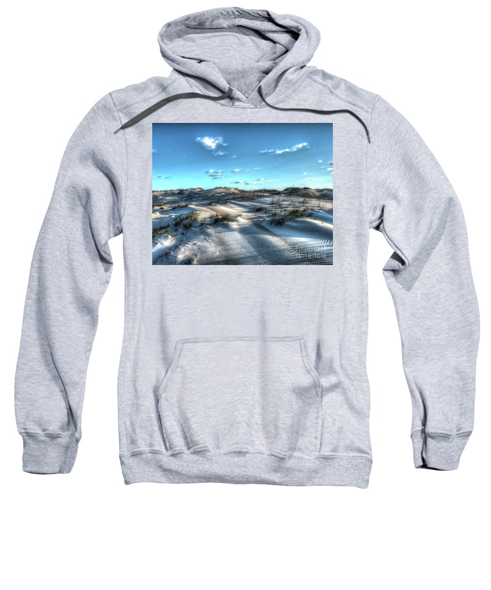 Currituck Beach Sweatshirt featuring the photograph Coquina Beach, Cape Hatteras, North Carolina by Greg Hager