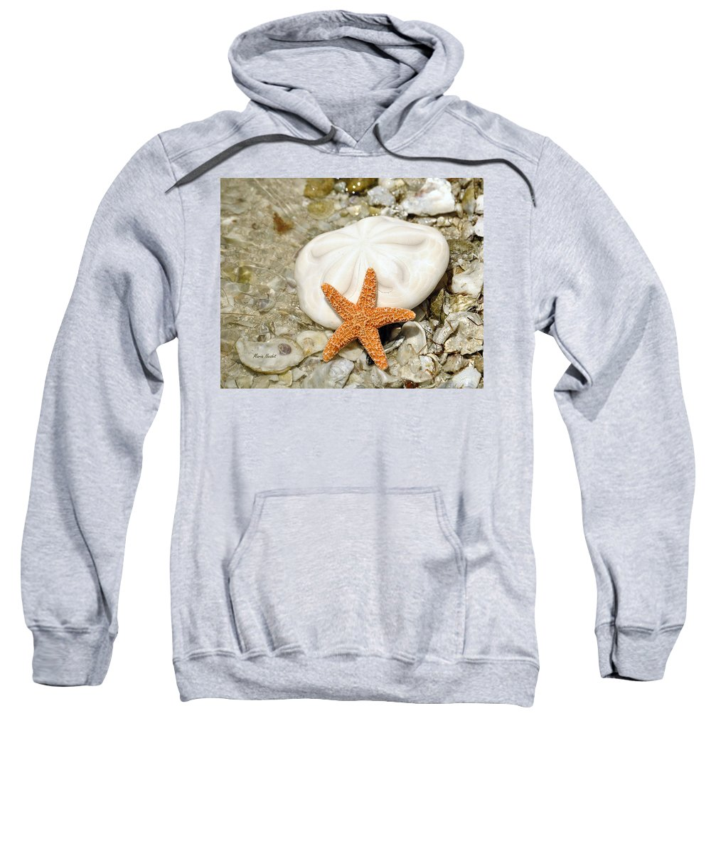 Sea Shells Sweatshirt featuring the photograph Core Of The Reef by Maria Nesbit