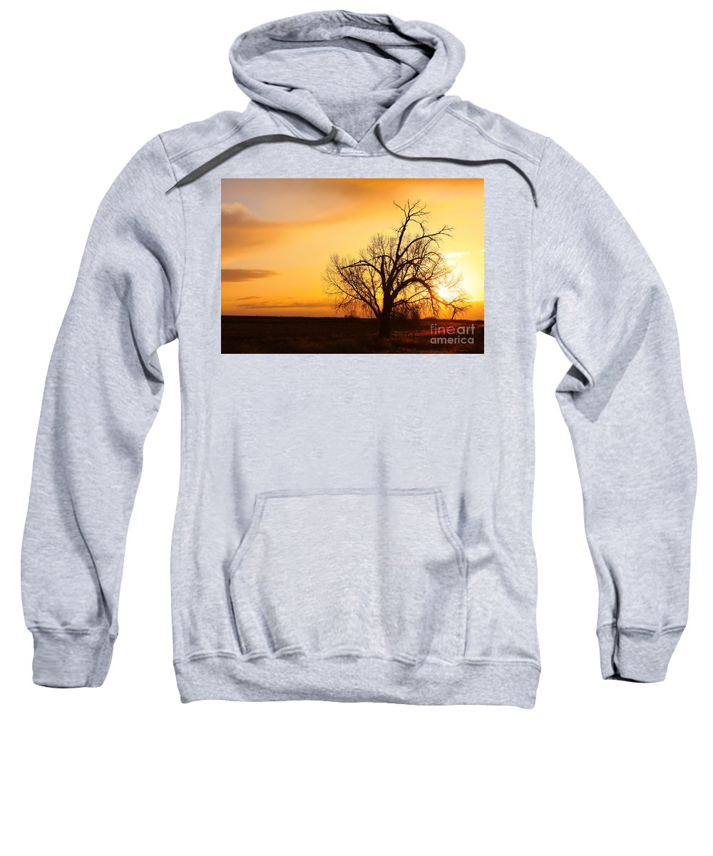 Sunrise Sweatshirt featuring the photograph Country Sunrise by James BO Insogna