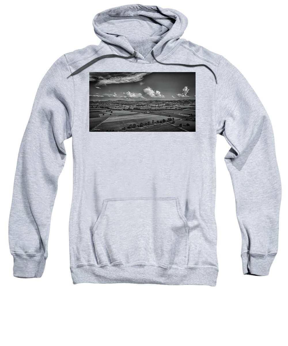 Countryside Sweatshirt featuring the photograph Countryside by Nicola Maria Mietta