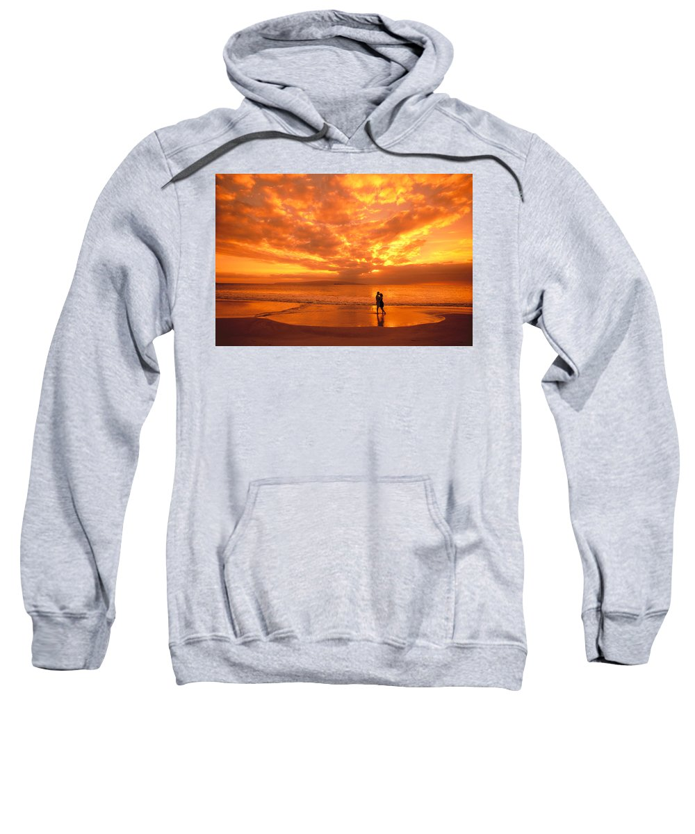 Affection Sweatshirt featuring the photograph Couples Vacation by Dave Fleetham - Printscapes