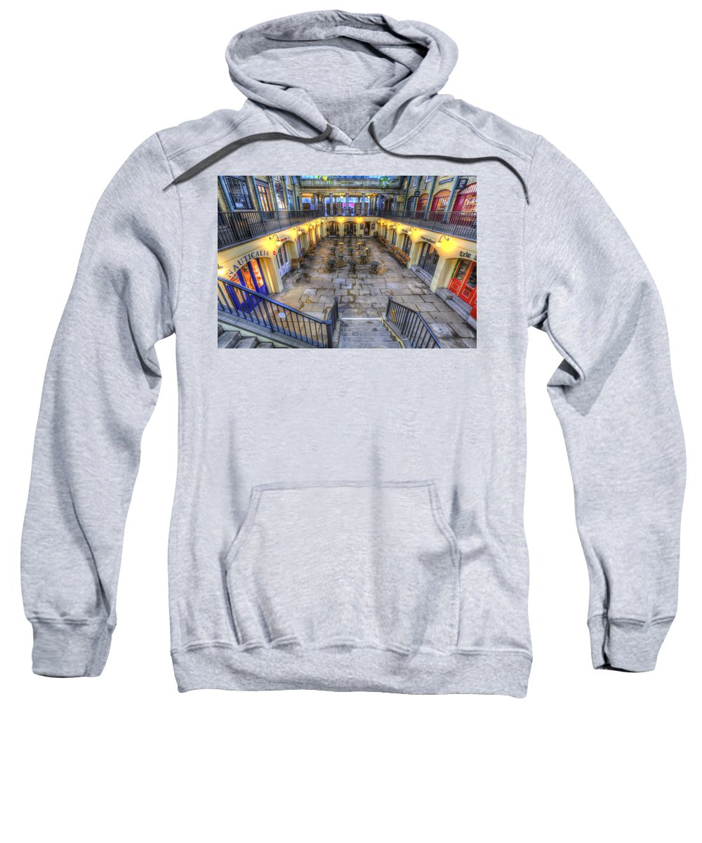 Covent Garden Sweatshirt featuring the photograph Covent Garden London View by David Pyatt