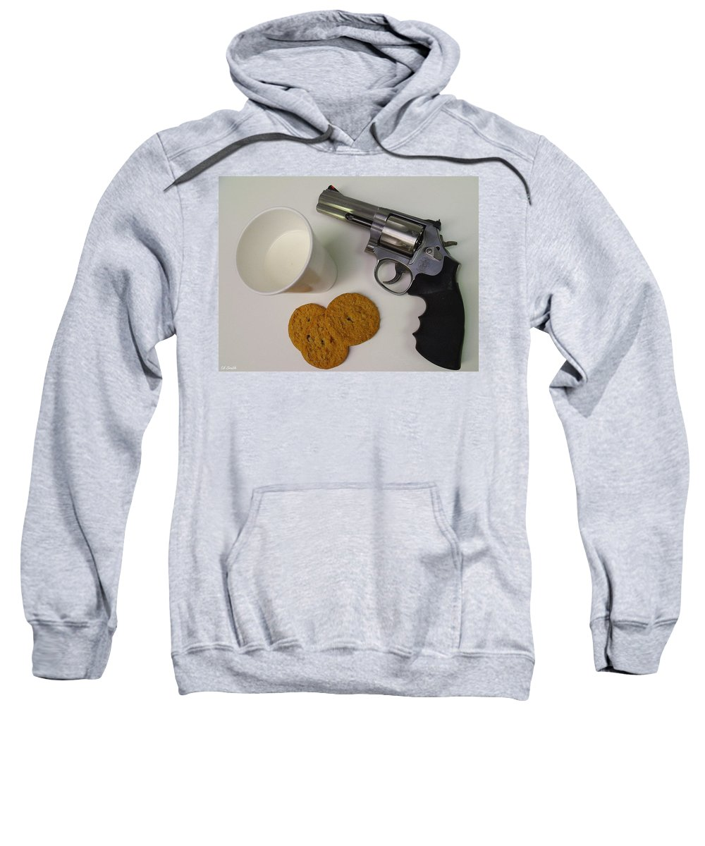 Still Life Sweatshirt featuring the photograph Cowboy Junky by Ed Smith