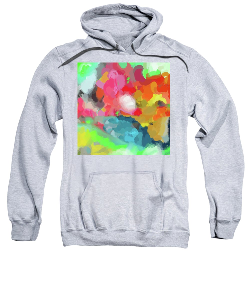 Art A Child's Day Sweatshirt featuring the photograph Crayons Line The Table by Melissa Deanching
