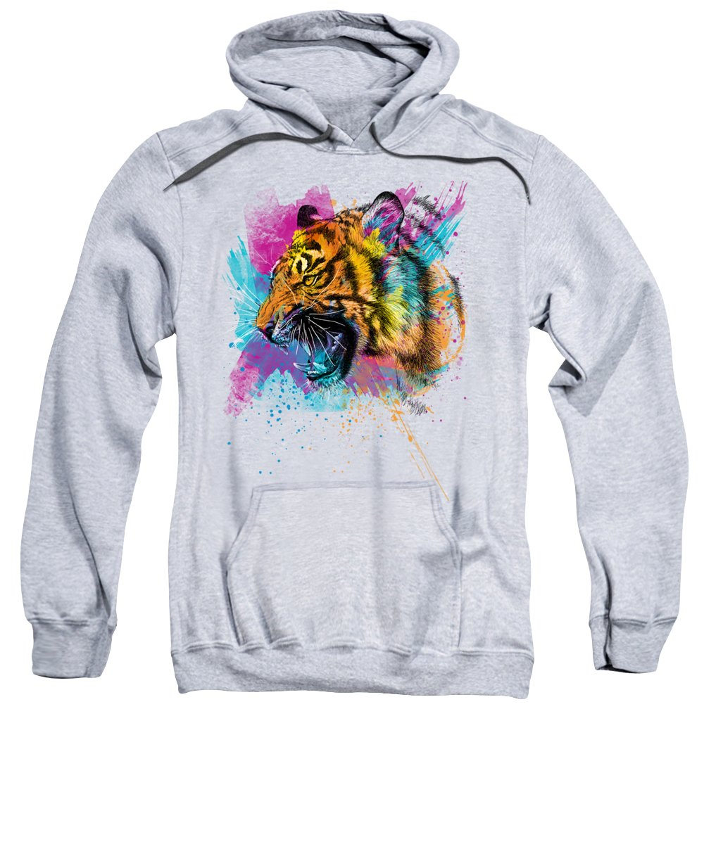 Tiger Hooded Sweatshirts T-Shirts