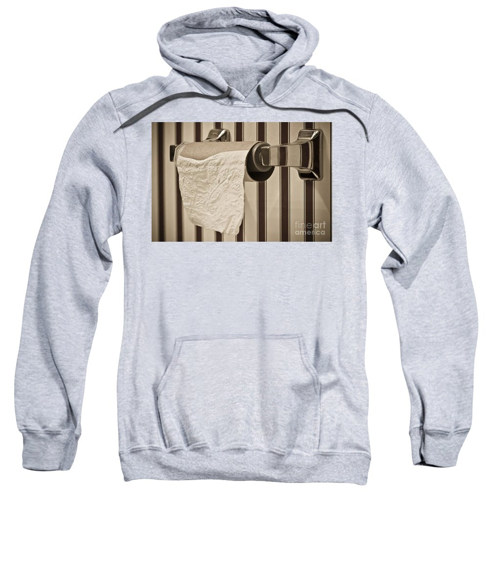 Critical Sweatshirt featuring the photograph Critical Thinking by Charles Dobbs