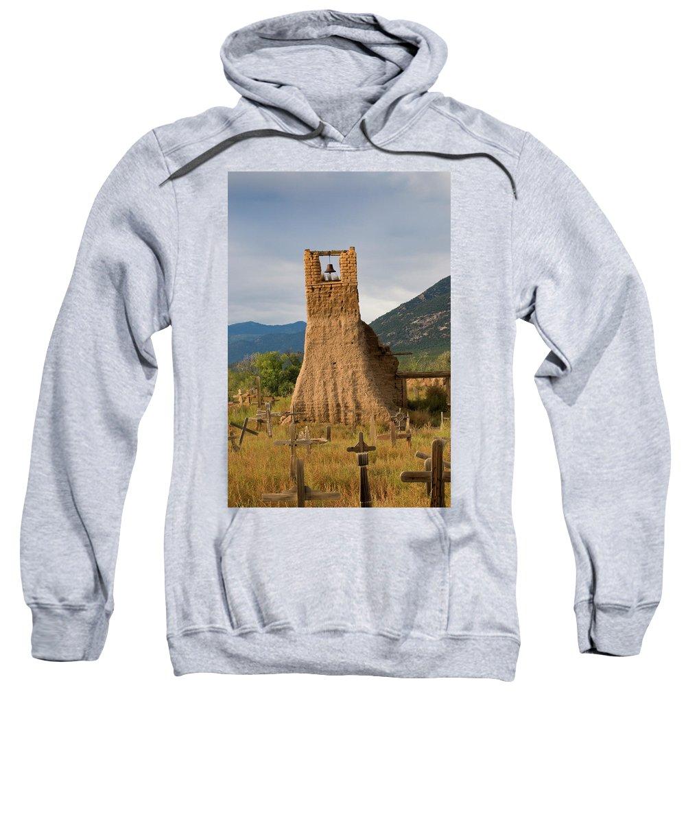 Southwest Sweatshirt featuring the photograph Cross Roads by Jim Benest