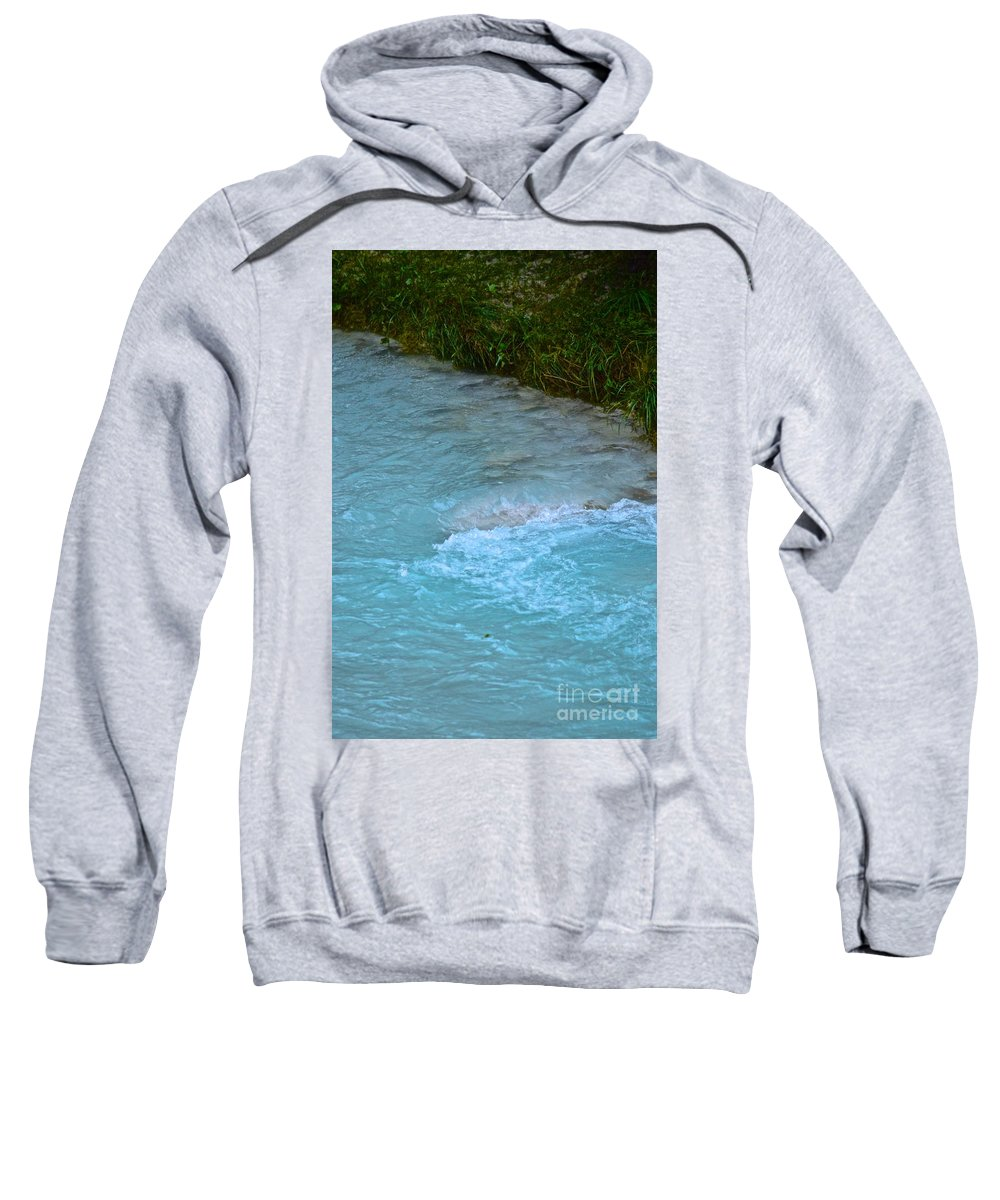 Water Sweatshirt featuring the photograph Crystal Waters by Photos By Zulma