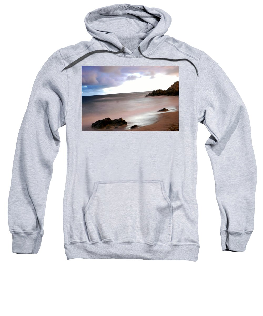 Ocean Sweatshirt featuring the photograph Curve Of The Horizon by Stephanie Haertling