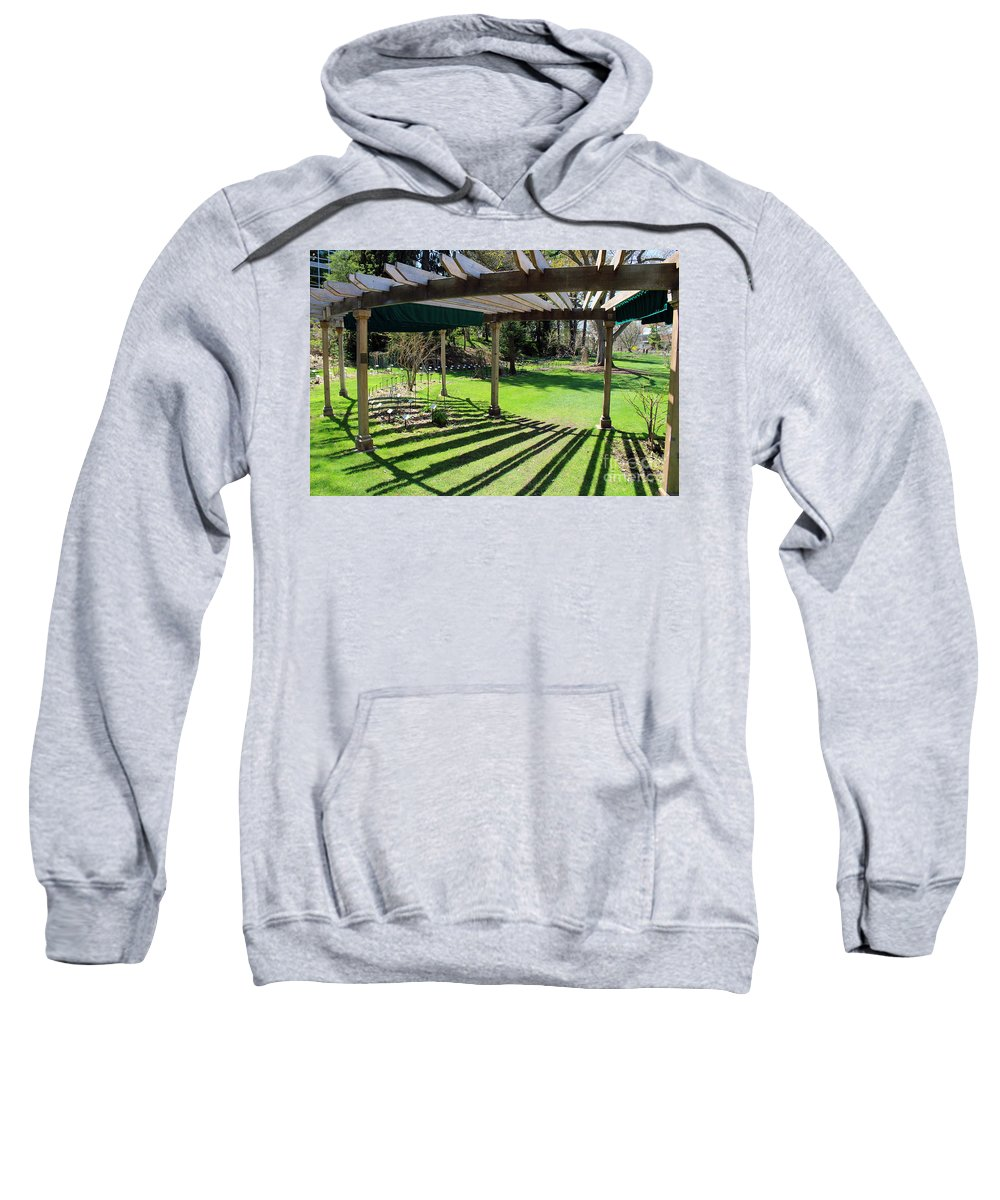Arbor Sweatshirt featuring the photograph Curved Arbor by Douglas Milligan