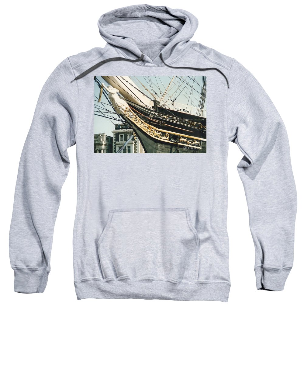 Ship Sweatshirt featuring the photograph Cutty Sark by Mary Rogers