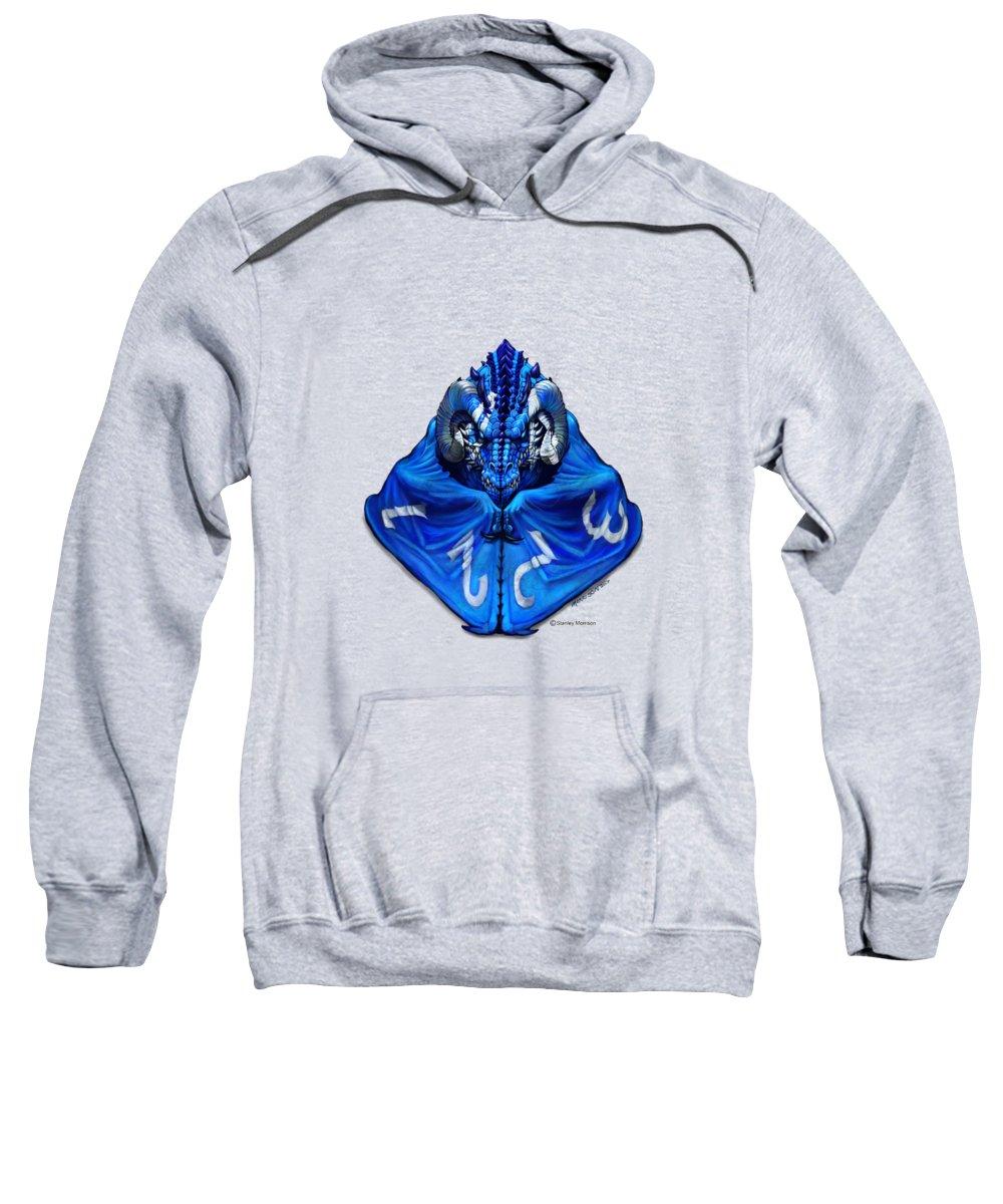T-shirt Sweatshirt featuring the digital art D4 Dragon T-shirt by Stanley Morrison