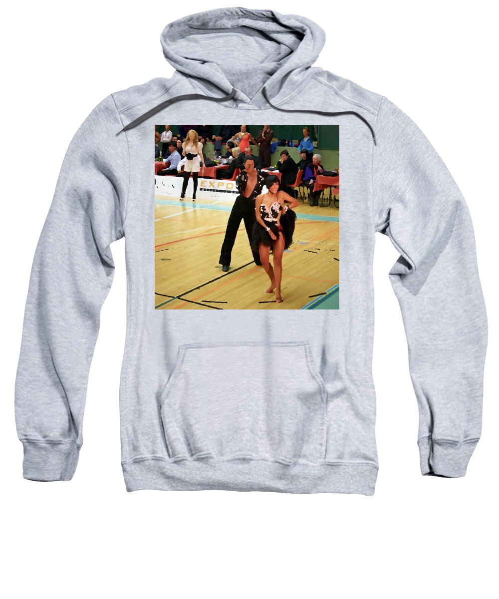 Lehtokukka Sweatshirt featuring the photograph Dance Contest Nr 02 by Jouko Lehto