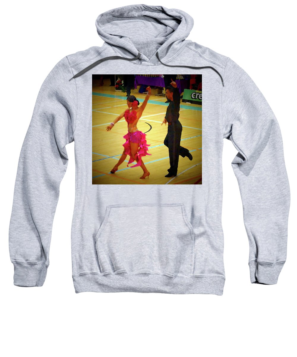 Lehtokukka Sweatshirt featuring the photograph Dance Contest Nr 06 by Jouko Lehto