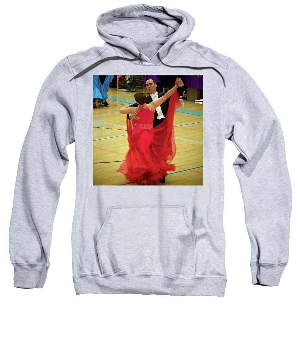 Lehtokukka Sweatshirt featuring the photograph Dance Contest Nr 11 by Jouko Lehto
