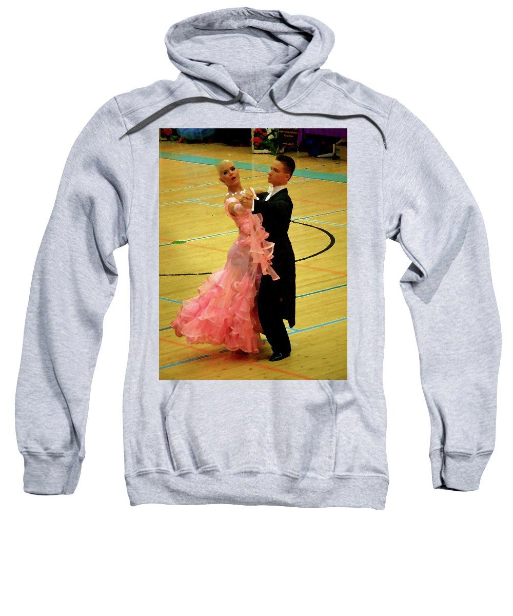Lehtokukka Sweatshirt featuring the photograph Dance Contest Nr 17 by Jouko Lehto