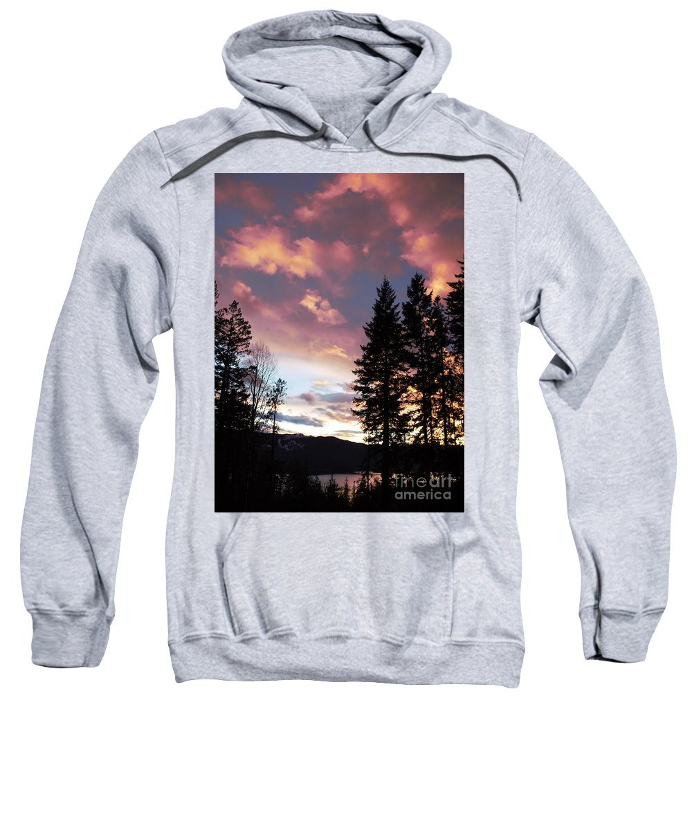 Clouds Sweatshirt featuring the photograph Dancing Clouds by Victor K
