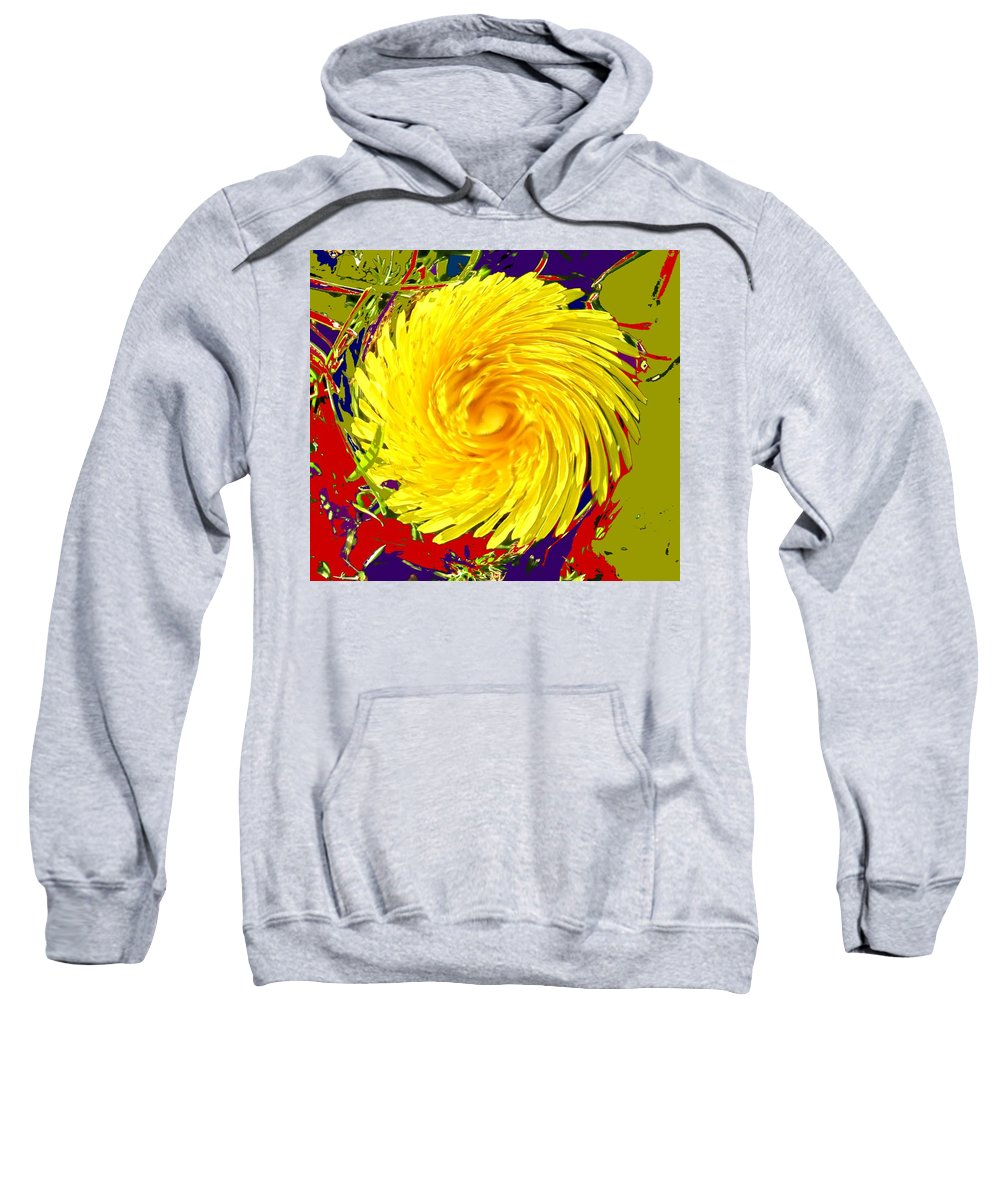 Flower Sweatshirt featuring the photograph Dandy Three by Ian MacDonald