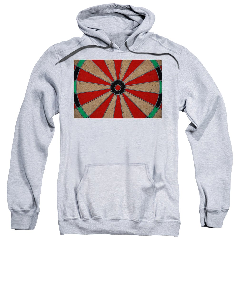 Art Sweatshirt featuring the photograph Dart Board by Rob Hans