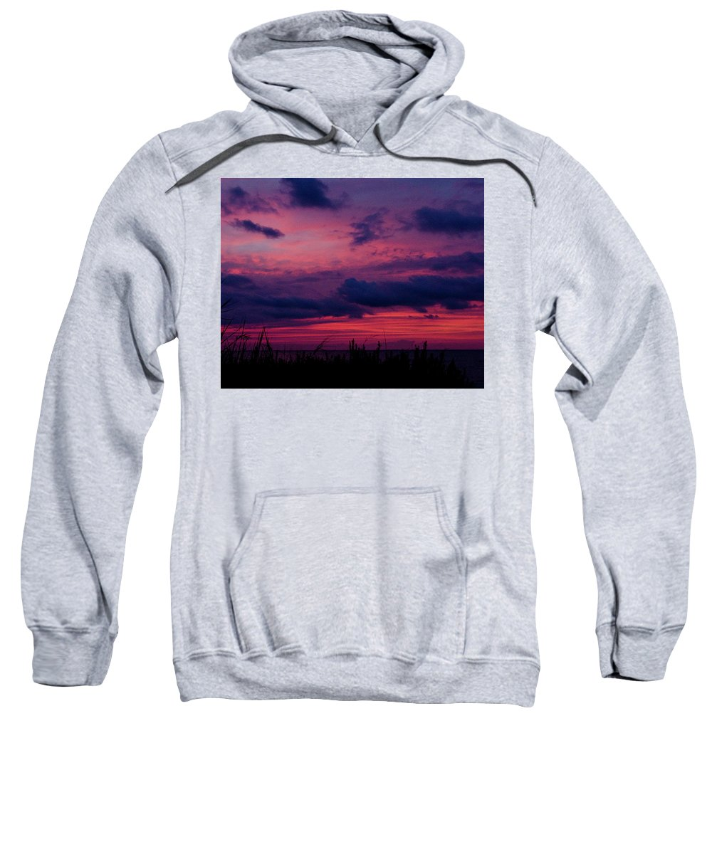 Sunset Sweatshirt featuring the photograph Dauphin Island Sunset #4 by Kevin Work
