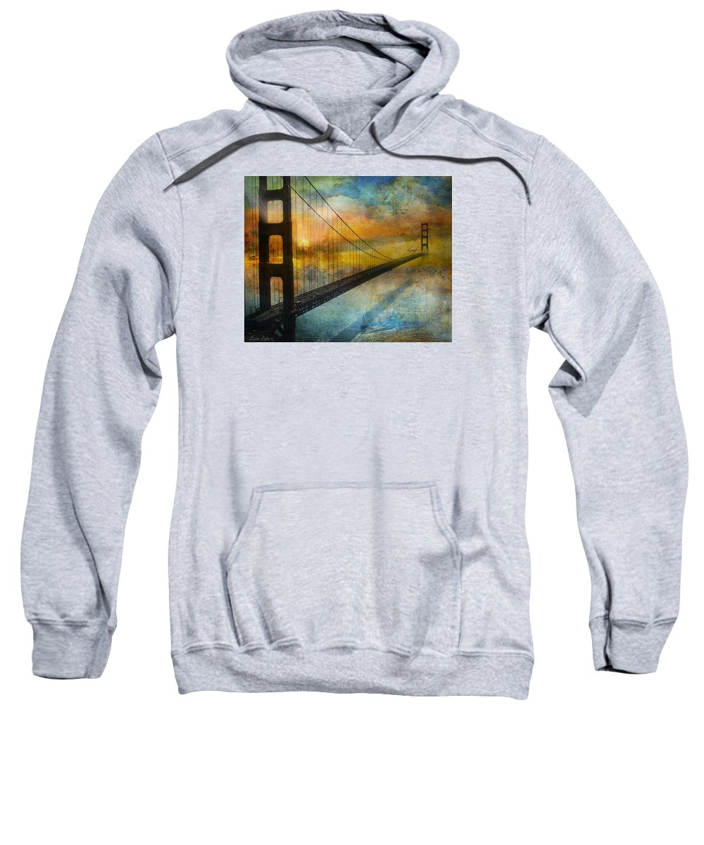 Landscape Sweatshirt featuring the photograph Dawn's Early Light by Laura Lipke