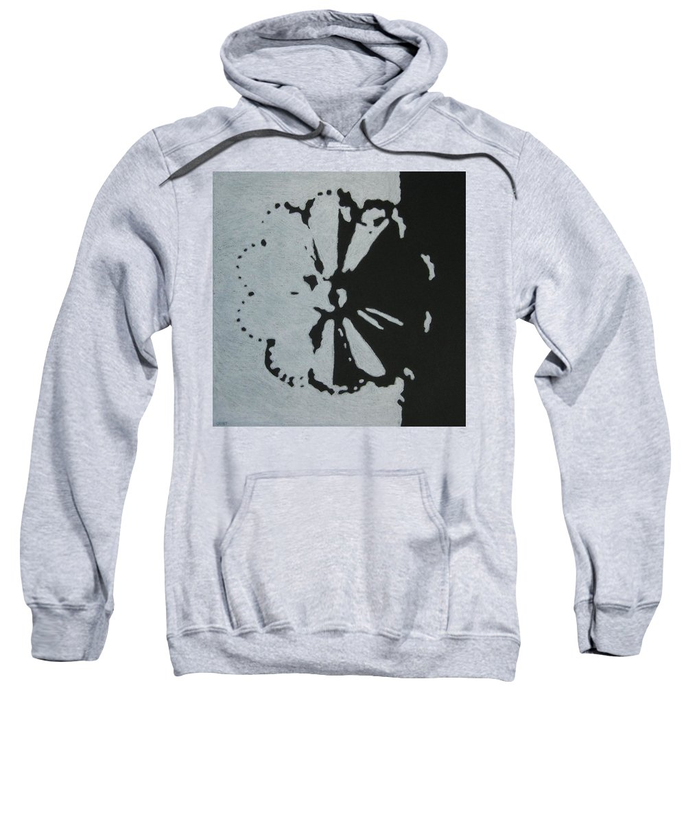 Day Sweatshirt featuring the drawing Day And Night II by Lynet McDonald