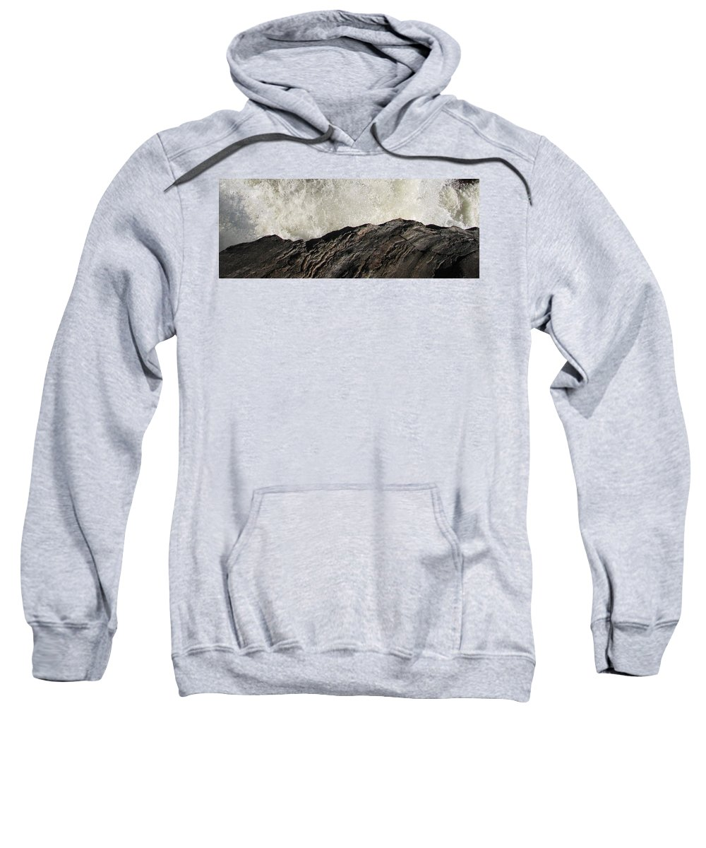 Abstract Sweatshirt featuring the photograph Day And Night by Kelly Mezzapelle