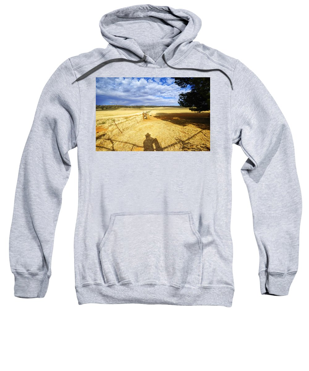Landscape Sweatshirt featuring the photograph Day Dreaming by Wayne Sherriff