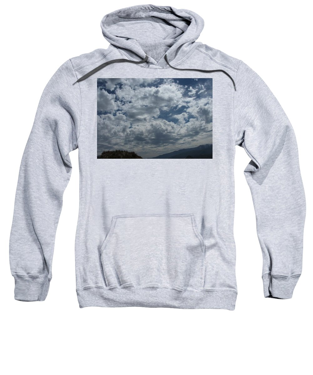 Clouds Sweatshirt featuring the photograph Daydreaming by Shari Chavira