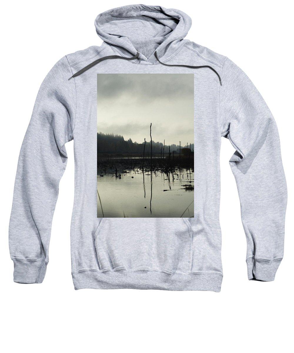 Dead Tree Sweatshirt featuring the photograph Dead Tree Waters by Sara Stevenson
